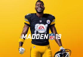Antonio Brown protagonizará la portada de Madden NFL 19