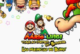 Lanzamiento: Mario & Luigi: Viaje al centro de Bowser + Las peripecias de Bowsy