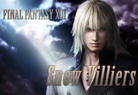 Snow Villiers llega a Dissidia Final Fantasy NT