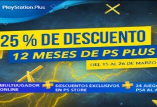 PlayStation anuncia un descuento del 25% en la suscripción anual de PlayStation Plus