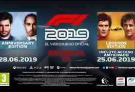 F1 2019 estrena su espectacular primer trailer