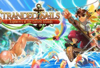 Stranded Sails - Explorers of the Cursed Islands desembarcará en consolas en octubre