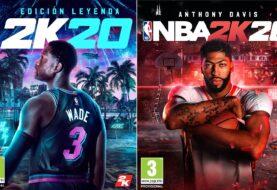 Anthony Davis y Dwyane Wade serán las icónicas estrellas de portada de NBA 2K20