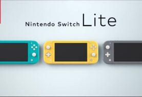 Nintendo Switch Lite ya está disponible