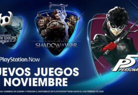Persona 5, La Tierra Media: Sombras de Guerra y Hollow Knight se unen a PlayStation Now en noviembre