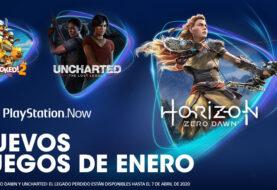 Horizon Zero Dawn, Uncharted: El Legado Perdido y Overcooked! 2 llegan a PlayStation Now en enero