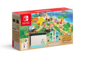 Anunciado el pack especial de Nintendo Switch edición Animal Crossing: New Horizons