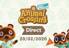 Anunciado Nintendo Direct sobre Animal Crossing: New Horizons