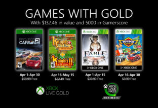 Project CARS 2 y Fable Anniversary, entre los Games with Gold de abril