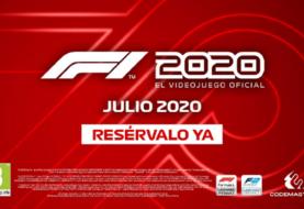 F1 2020 muestra su primer tráiler