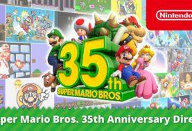 Nintendo conmemora el 35.º aniversario de Super Mario Bros. con juegos, productos y eventos en sus juegos