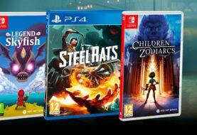 Legend of Skyfish, Steel Rats y Children of Zodiarcs ya están disponibles en su edición física