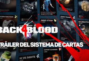 BACK 4 BLOOD presenta un nuevo tráiler centrado en su sistema de cartas