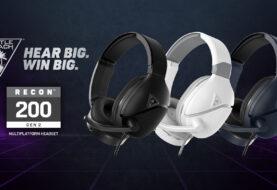 Turtle Beach anuncia los nuevos auriculares multiplataforma RECON 200 Gen 2