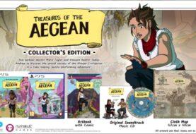 Treasures of the Aegean tendrá una edición coleccionista en formato físico para PlayStation 4, PlayStation 5 y Nintendo Switch